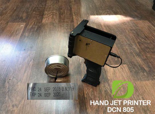 دستگاه تاریخ زن دستی جهت چاپ بر روی کنسرو