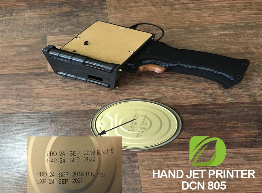 جت پرینتر دستی صنعتی جهت چاپ بر روی درب رب