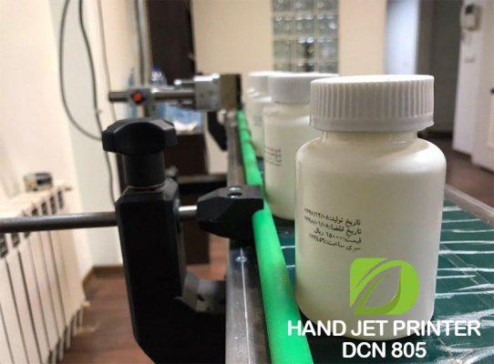 جت پرینتر اتوماتیک صنعتی جهت چاپ بر روی بطری قرص